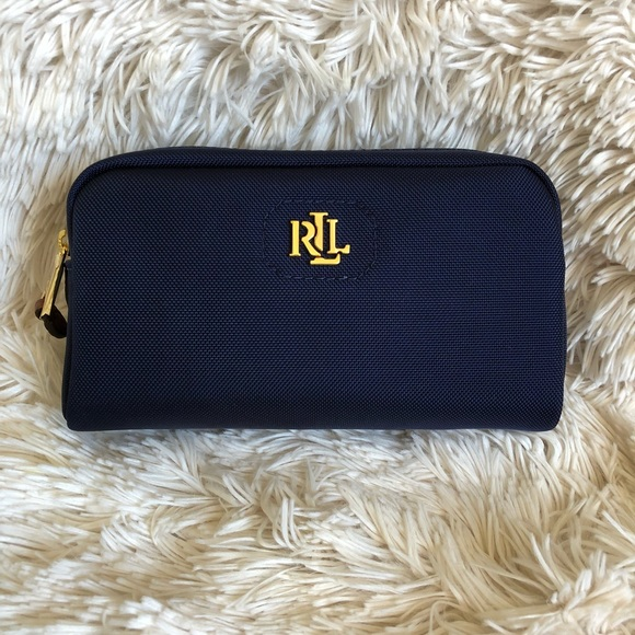 2e8492e8c923 Ralph Lauren Canvas Bainbridge Cosmetic Case
